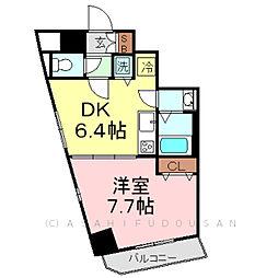 KDXレジデンス元浅草[7階]の間取り