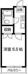 KNビル[5階]の間取り