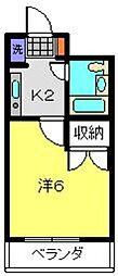 アジュール片倉[403号室]の間取り