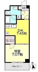 コンフォート関町II[302号室]の間取り画像
