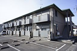 栃木県小山市美しが丘1丁目の賃貸アパートの外観