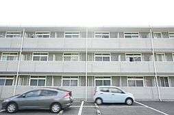 栃木県宇都宮市下荒針町の賃貸マンションの外観