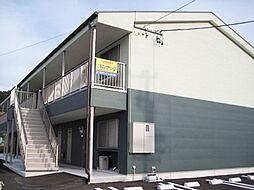 静岡県牧之原市白井の賃貸アパートの外観