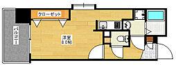 ラフィネス博多リバーステージ[5階]の間取り