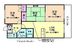サンヴェール神田[3階]の間取り