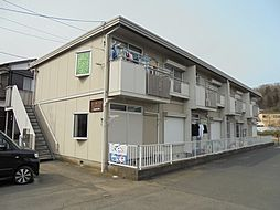 東京都八王子市宮下町の賃貸アパートの外観