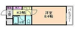コウヨウ井口堂[2階]の間取り
