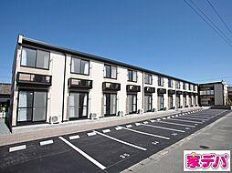 愛知県蒲郡市神明町の賃貸アパートの外観