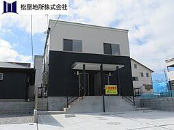 愛知県豊橋市西口町字西ノ口の賃貸アパートの外観