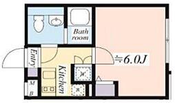 NOZOMIO PREMIER蒲田 3階1Kの間取り