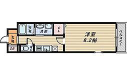 ユーヴェS3[2階]の間取り