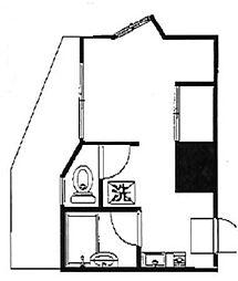 ウィズケーワイエイチ[11階]の間取り