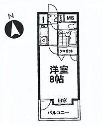 永吉マンション[303号室]の間取り