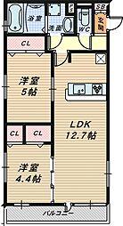 (仮称)D-room北三国ヶ丘8丁[1階]の間取り
