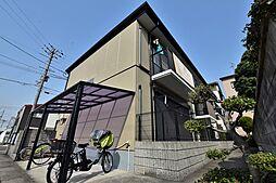 大阪府松原市天美我堂7丁目の賃貸アパートの外観