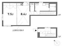 東京メトロ南北線 白金高輪駅 徒歩5分の賃貸アパート 1階1LDKの間取り