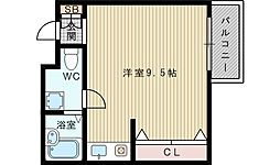 東千里OMパレス2[2階]の間取り