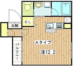 グラマシーポート[2階]の間取り