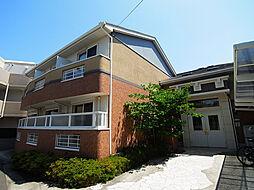 兵庫県神戸市須磨区関守町1丁目の賃貸アパートの外観