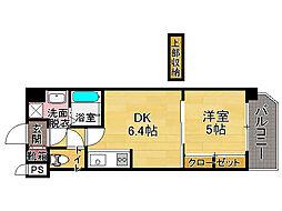 F・PARC大濠公園(1105)[11階]の間取り
