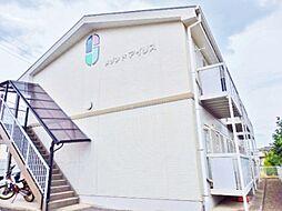 長野県長野市合戦場3丁目の賃貸アパートの外観