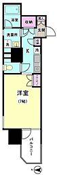 ミラコスタ・キタミ[605号室]の間取り