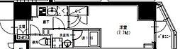 エスレジデンス曳舟 2階1Kの間取り