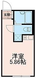 クラナカノシマ(KURA Nakanoshima)[0204号室]の間取り