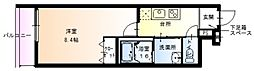 フジパレス加美東[3階]の間取り