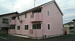 茨城県古河市久能の賃貸アパートの外観