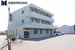 愛知県豊川市西豊町1丁目の賃貸マンションの外観