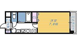 アンシャンテ深井[5階]の間取り