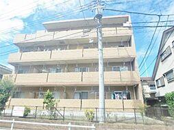 東京都府中市分梅町4丁目の賃貸マンションの外観
