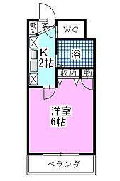 ベイステートYASUMA[607号室]の間取り