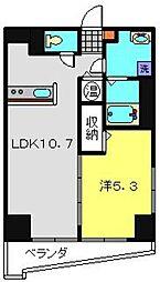 第10Z西村ビル[202号室]の間取り