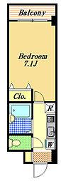 レジディア浦安II[2階]の間取り