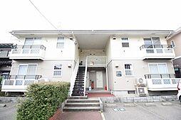 新潟県新潟市中央区京王2丁目の賃貸アパートの外観