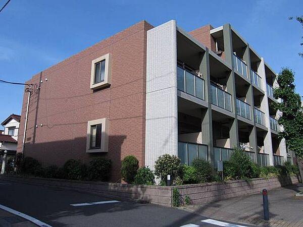 東京都狛江市中和泉4丁目の賃貸マンションの外観