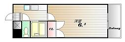 ラシャンブル神戸[5号室]の間取り