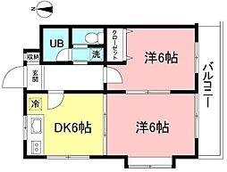 メゾンロヒタカーレ[3階]の間取り