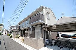 大阪府堺市西区浜寺公園町3丁の賃貸アパートの外観