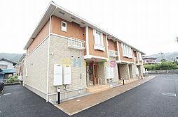 東京都あきる野市雨間の賃貸アパートの外観