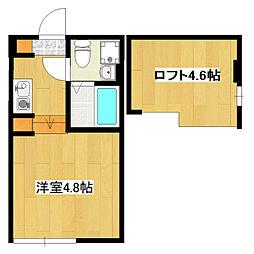 (仮称)鎌倉4丁目コーポB[1階]の間取り
