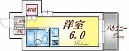 Riora神戸[6階]の間取り