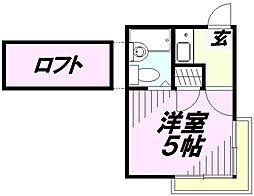 メゾン・ミハラI[2階]の間取り