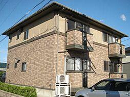 愛知県岡崎市西大友町字諏訪の賃貸アパートの外観