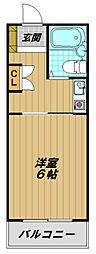 須磨浦ドミトリー[4階]の間取り