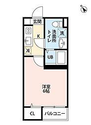 メゾン・ド 新検見川[2階]の間取り