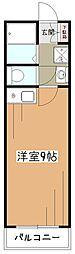 久米川グリーンコート[3階]の間取り