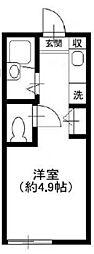 リヴィエールランド オランジュ[2階]の間取り
